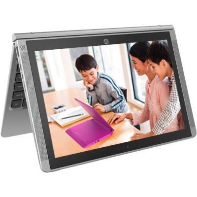 HP Atom - (2 GB/32 GB EMMC Storage/Windows 10 Home) T6T50PA x2 210 2 in 1 Laptop(10.1 inch, SIlver, 1.139 kg)