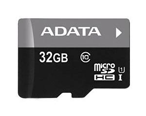 Adata 32GB MicroSDHC Class 10 AUSDH32GUICL10-R