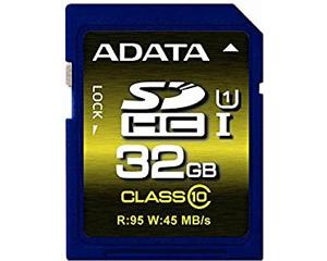 Adata 32GB MicroSDXC Class 10 ASDH32GUI1CL10-R