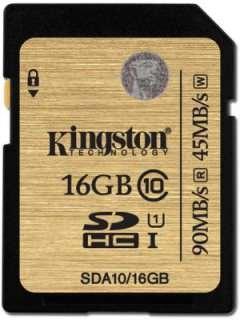 Kingston 16GB MicroSDHC Class 10 SDA10/16GB