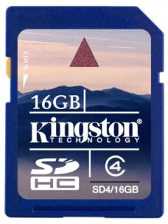 Kingston 16GB SD Class 4 SD4/16GB