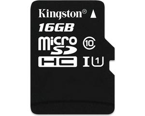 Kingston 16GB MicroSD Class 10 SDC10G2/16GBFR