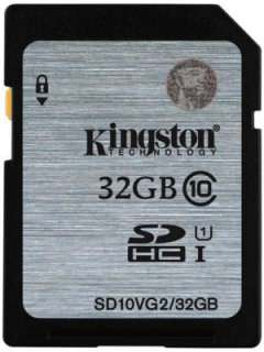 Kingston 32GB MicroSDHC Class 10 SDA3