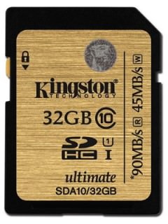 Kingston 32GB SD Class 10 SDA10/32GB