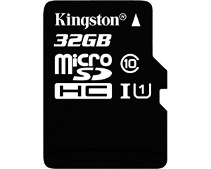 Kingston 32GB MicroSD Class 10 SDC10G2/32GB