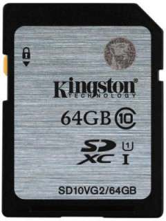 Kingston 64GB MicroSDXC Class 10 SD10VG2/64GB