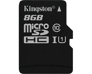 Kingston 8GB MicroSD Class 10 SDC10G2/8GB
