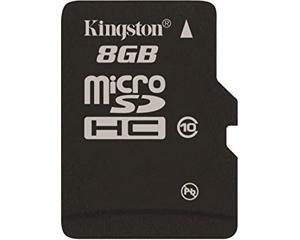 Kingston 8GB MicroSDXC Class 10 SDCIT/8GBSP