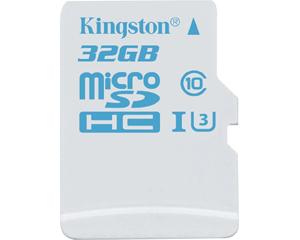 Kingston Digital 32GB MicroSDHC UHS-I U3 (SDCAC/32GB)