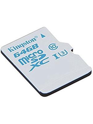 Kingston Digital 64GB MicroSDHC UHS-I U3 SDCAC/64GBSP