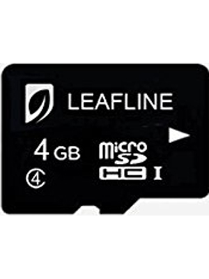 Leafline MicroSDHC 4GB Class 4 Memory Card