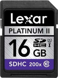 Lexar 16GB MicroSDHC Class 10 LSD16GBSBNA2002