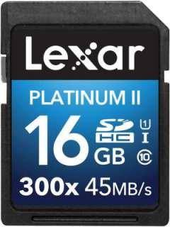 Lexar 16GB MicroSDHC Class 10 LSD16GBBNL300