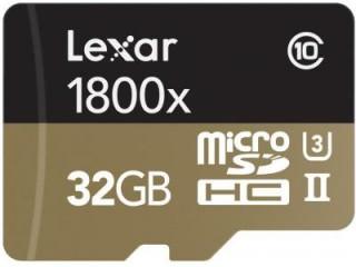 Lexar 32GB MicroSDHC Class 10 LSDMI32GCRBNA1800R
