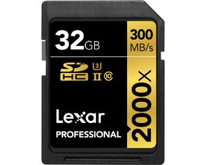 Lexar 32GB MicroSDHC Class 10 LSD32GCRBNA2000R