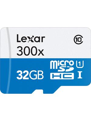 Lexar MicroSDHC 300x 32GB Flash Memory Card LSDMI32GBBNL300A