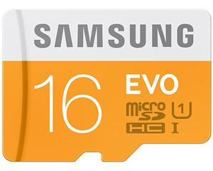Samsung 16GB MicroSDHC Class 10MB-MP16D/IN