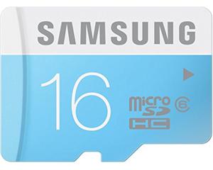 Samsung 16GB MicroSDHC Class 6 MB-MS16D/IN