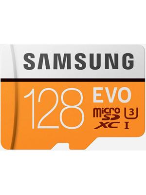 Samsung Evo 128 GB MicroSDXC Class 10 100 MB/s Memory Card