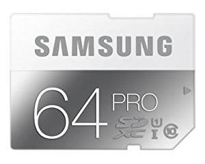 Samsung Pro 64GB MicroSDXC Class 10 MB-SG64D
