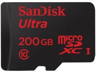 Sandisk 200GB MicroSDXC Class 10 SDSDQUAN-200G-G4A