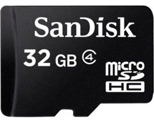 Sandisk 32GB MicroSDHC Class 10 SDSDQ-032G