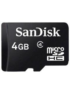 Sandisk microSDHC 4GB SD Class 4 SDSDQM-004G-B35
