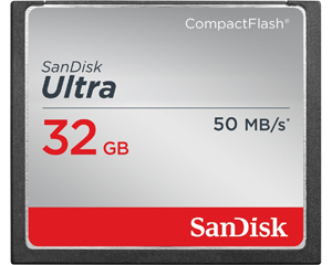 SanDisk Ultra 32GB CompactFlash Memory Card(SDCFHS-032G-G46)
