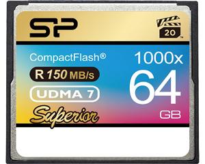 Silicon Power 64GB Compact Flash Card (SP064GBCFC1K0V10)