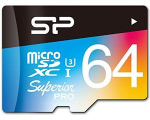 Silicon Power 64GB MicroSDXC Class 3 SP064GBSTXDU3V20SP