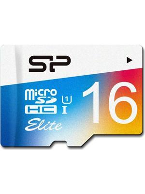 Silicon Power Elite 16 GB SP016GBSTHBU1V20BT MicroSDHC Memory Card