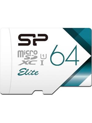Silicon Power Elite 64GB MicroSDXC Memory Card (SP064GBSTXBU1V20BS)