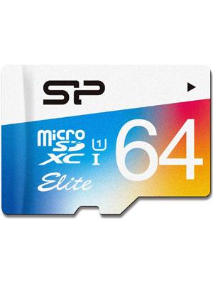 Silicon Power Elite 64GB SP064GBSTXBU1V20UR Flash Memory Card