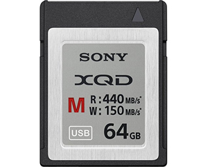 Sony 64GB XQD Memory Card QD-M64