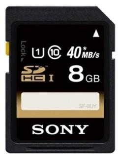 Sony 8GB SD Class 10 SF-8UY