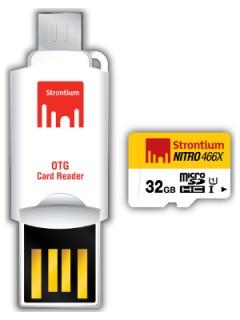 Strontium 32GB MicroSDHC Class 10 SRN32GTFU1C
