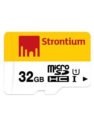 Strontium 32GB MicroSDHC Class 10 SRN32GTFU1R