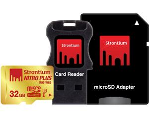 Strontium 32GB MicroSDHC Class 10 SRP32GTFU1C