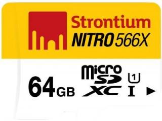 Strontium 64GB MicroSDXC Class 10 SRN64GTFU1R