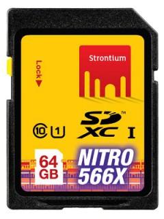 Strontium 64GB SD Class 10 SRN64GSDU1