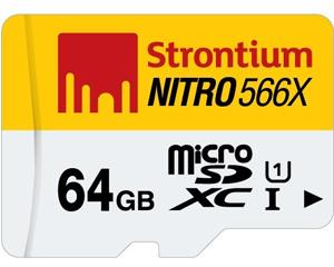Strontium 64GB MicroSDXC Class 10 SRN64GTFU1P