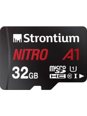 Strontium Nitro A1 32GB SDHC UHS Class 1 100 Mbps Memory Card