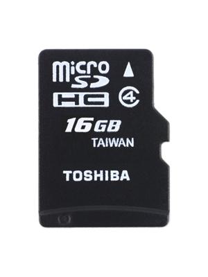 Toshiba 16GB MicroSDHC Class 4 C16G