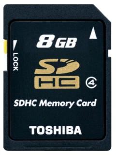 Toshiba 8GB SD Class 4 SD-K08GJ