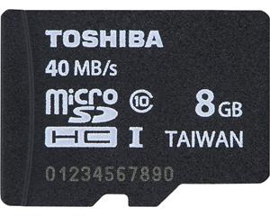 Toshiba 8GB MicroSDHC Class 10 PFM008U-2DCK