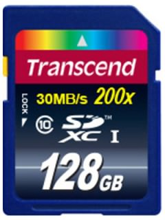 Transcend 128GB SD Class 10 TS128GSDXC10U1