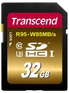Transcend 32GB SD Class 10 TS32GSDU3X
