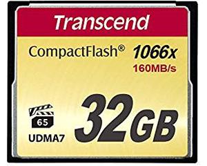 Transcend 32GB Compact Pen Card TS32GCF1000