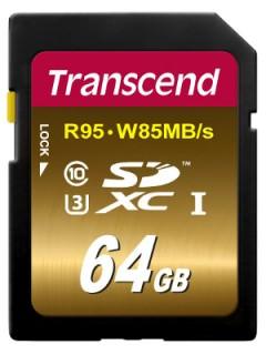 Transcend 64GB SD Class 10 TS64GSDU3