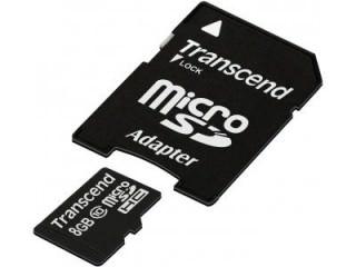 Transcend 8GB MicroSDHC Class 10 TS8GUSDHC10-P3